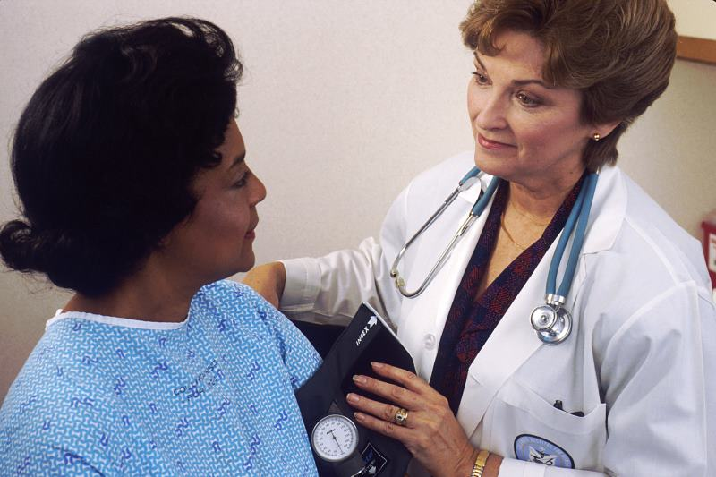 Wohlbefinden Arzt
