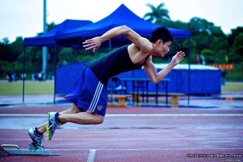 Puls beim Sport kontrollieren, Sprinter